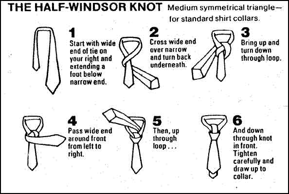 Do you use a half or full windsor knot?